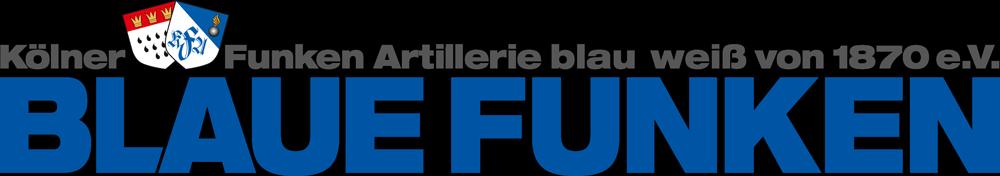 Logo des Sponsors: Blaue Funken