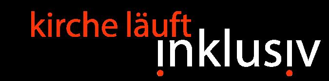 "logo ""kirche.läuft.inklusiv"""