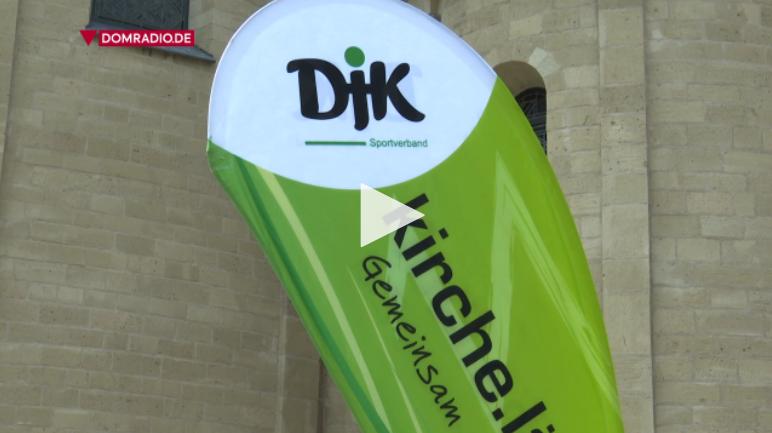 Die Fahne des DJK
